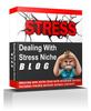 Thumbnail Dealing With Stress Niche Blog  (MRR )