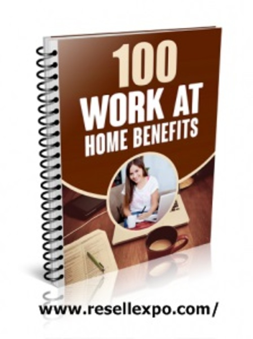 Product picture 100 Work At Home Benefits ( MRR )
