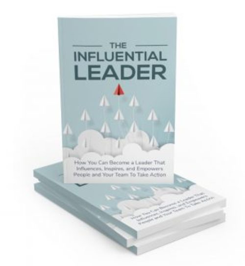 Product picture The Influential Leader MRR Ebook