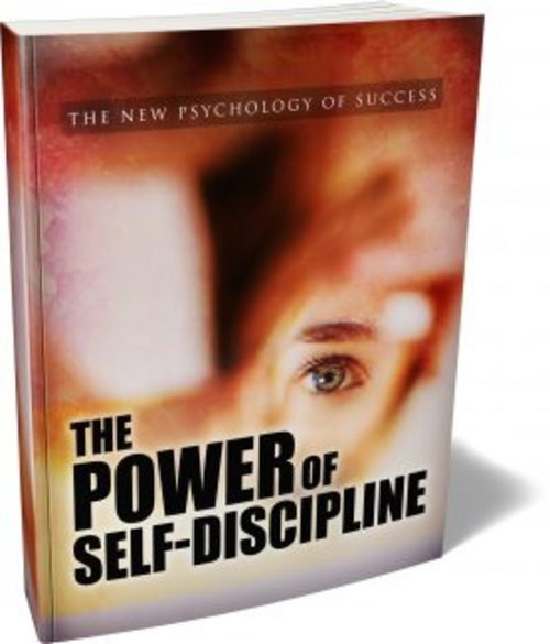 Product picture The Power Of Self-discipline MRR Ebook